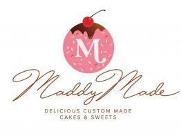 MaddyMade Logo Design